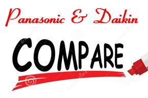 So sánh giá máy điều hòa 2 chiều Panasonic với Daikin mới nhất