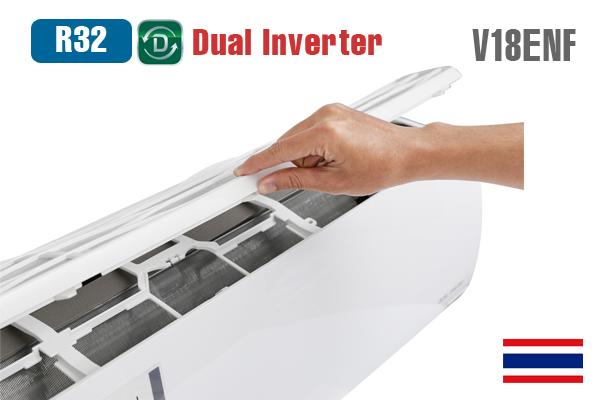 LG V18ENF, Điều hòa LG 1 chiều 18000BTU inverter gas R32