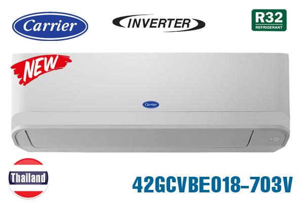 42GCVBE018-703V, Điều hòa Carrier 18000BTU 1 chiều inverter