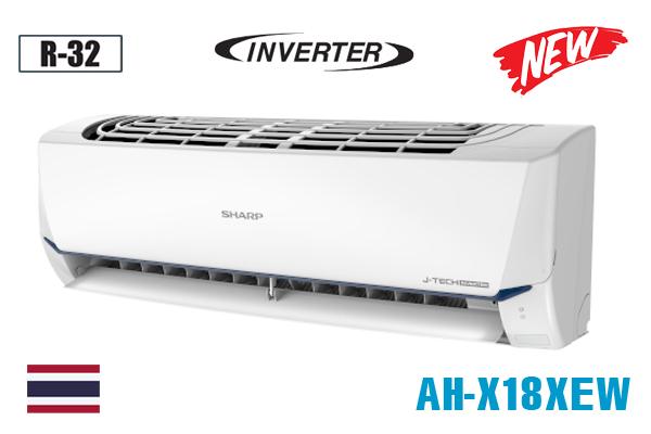Sharp AH-X18XEW, Điều hòa Sharp 18000BTU inverter 1 chiều