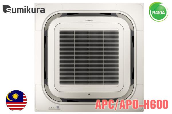 APC/APO-H600/8W-A, Điều hòa âm trần Sumikura 60000BTU 2 chiều