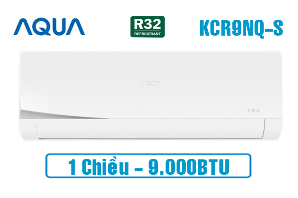 AQUA AQA-KCR9NQ-S, Điều hòa AQUA 9000BTU 1 chiều