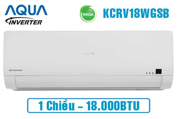 AQUA AQA-KCRV18WGSB, Điều hòa AQUA 18000BTU inverter 1 chiều
