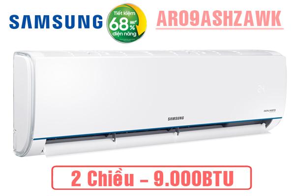 AR09ASHZAWKNSV, Điều hòa Samsung 9000BTU 2 chiều inverter