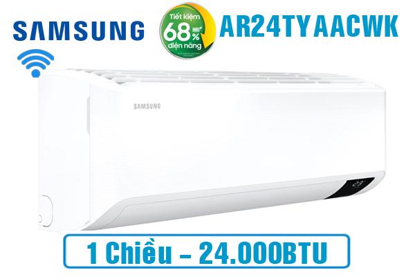 AR24TYCACWKNSV, Điều hòa Samsung 24000 BTU inverter Smart