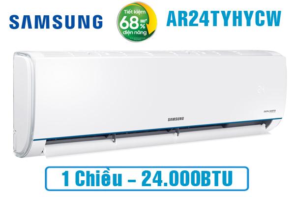 Samsung AR24TYHYCWKNSV, Điều hòa Samsung 24000BTU 1 chiều
