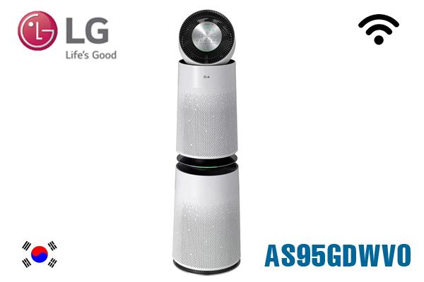 AS95GDWD0, Máy lọc không khí LG Puricare 360 2 tầng