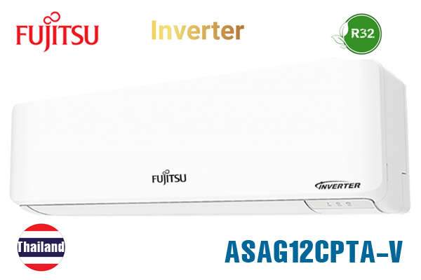 ASAG12CPTA-V, Điều hòa Fujitsu 12000 BTU 1 chiều inverter