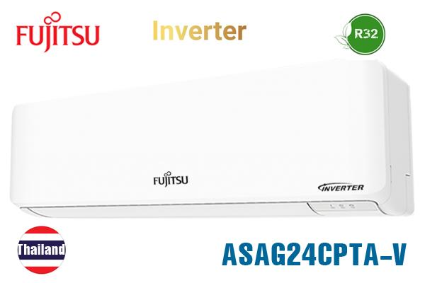 ASAG24CPTA-V, Điều hòa Fujitsu 24000BTU 1 chiều inverter