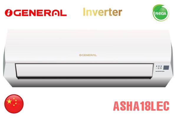 ASHA18LEC, Điều hòa General 18000BTU 2 chiều inverter