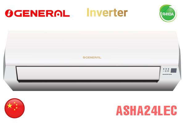ASHA24LEC, Điều hòa General 24000BTU 2 chiều inverter
