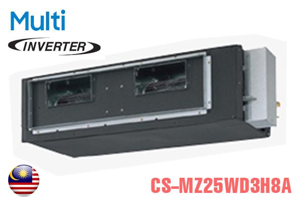 CS-MZ25WD3H8A, Điều hòa multi Panasonic âm trần nối ống gió 2 chiều 9000BTU