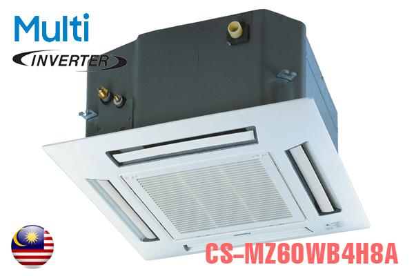 CS-MZ50WB4H8A, Điều hòa multi Panasonic âm trần 2 chiều 21000BTU