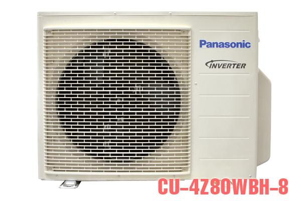 CU-4Z80WBH-8, Điều hòa multi Panasonic 2 chiều 1 nóng 4 lạnh