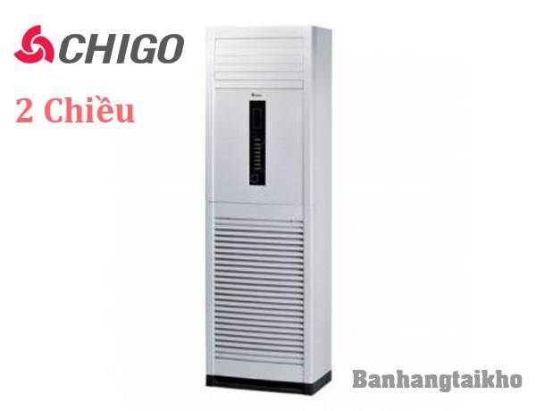 Điều hòa tủ đứng Chigo 48000BTU CVF48HN/HW 2 chiều