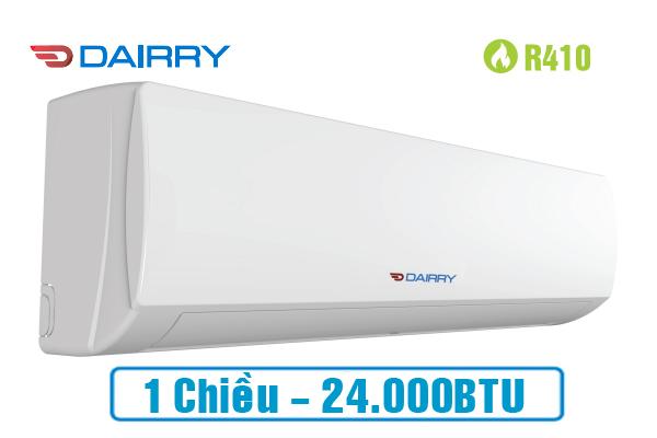 Dairry DR24-KC, Điều hòa Dairry 24000BTU 1 chiều