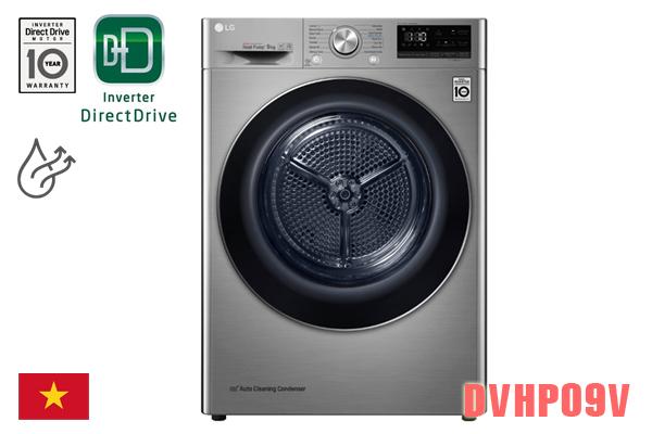 LG DVHP09V, Máy sấy quần áo LG 9kg ngưng tụ