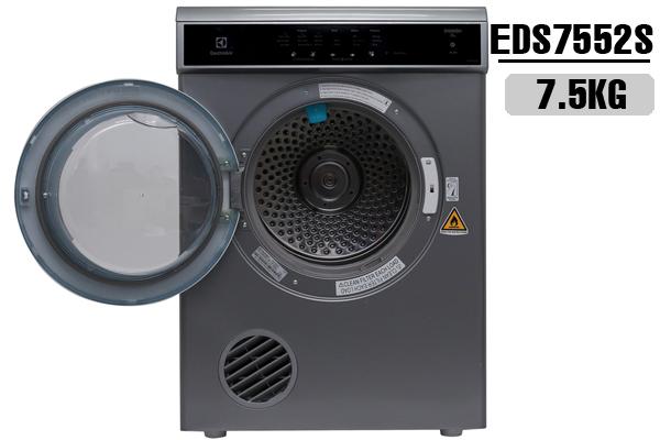 Electrolux EDS7552S, Máy sấy Electrolux 7.5 Kg