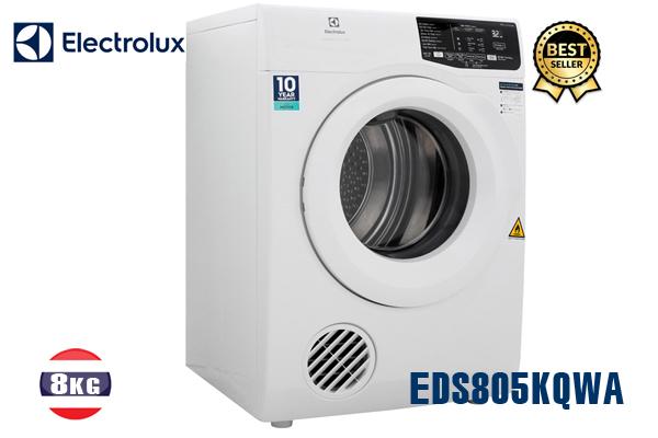 EDS805KQWA, Máy sấy Electrolux 8KG (màu trắng) tốt nhất 2020
