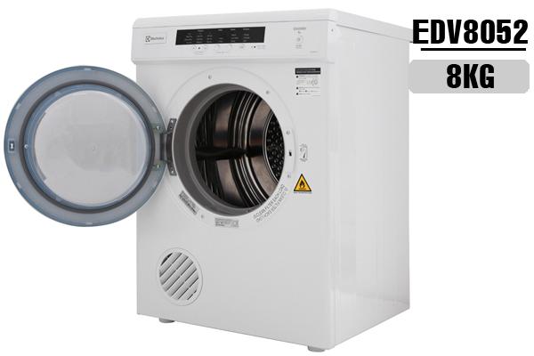 EDV8052, Máy sấy Electroux 8 Kg EDV8052 giá rẻ 2018