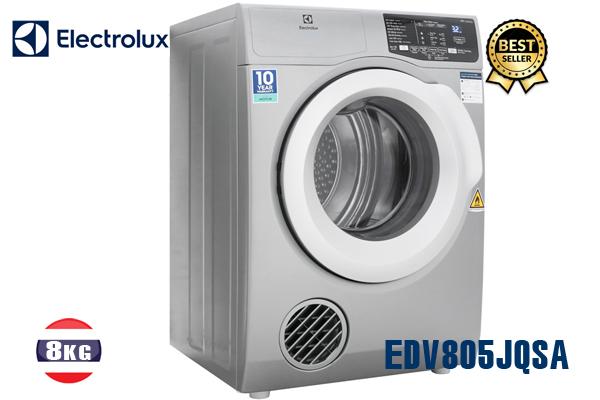 EDV805JQSA, Máy sấy Electrolux 8KG (màu xám) bán tốt 2020