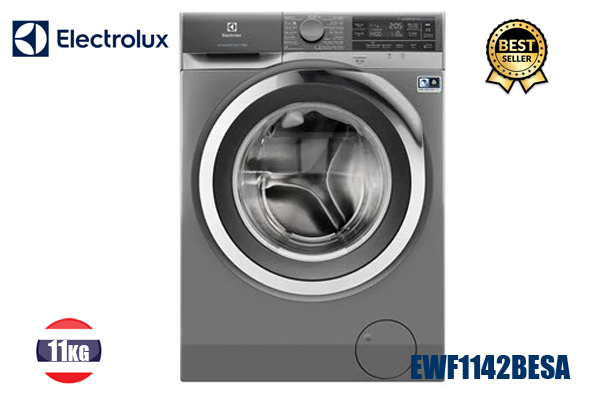 Electrolux EWF1142BESA, Máy giặt 11Kg Electrolux inverter 2019