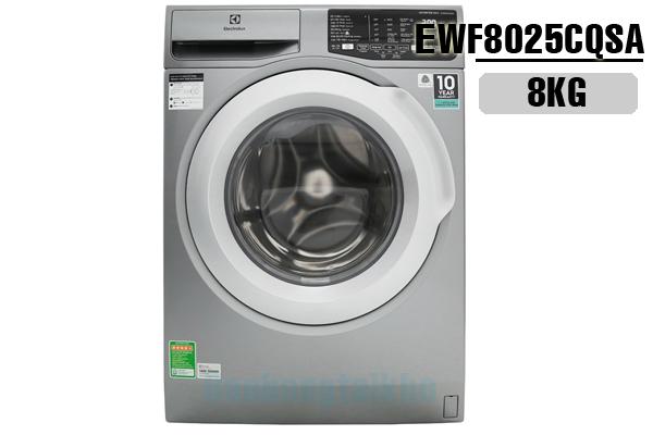 Electrolux EWF8025CQSA, Máy giặt Electrolux 8kg Inverter 2018