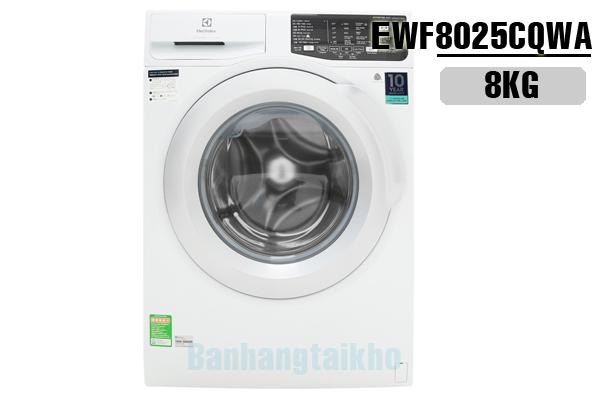 Electrolux EWF8025CQWA, Máy giặt Electrolux inverter 8kg 2018