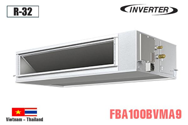 FBA100BVMA9/RZA100DV1, Điều hòa âm trần nối ống gió Daikin 34000BTU