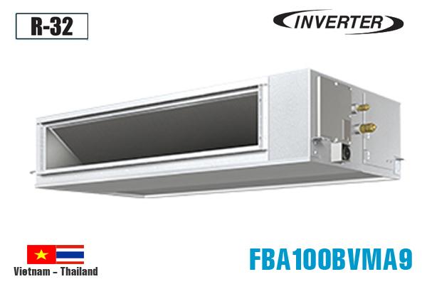 FBA100BVMA9/RZF100CVM, Điều hòa nối ống gió Daikin 34000BTU inverter 1 chiều