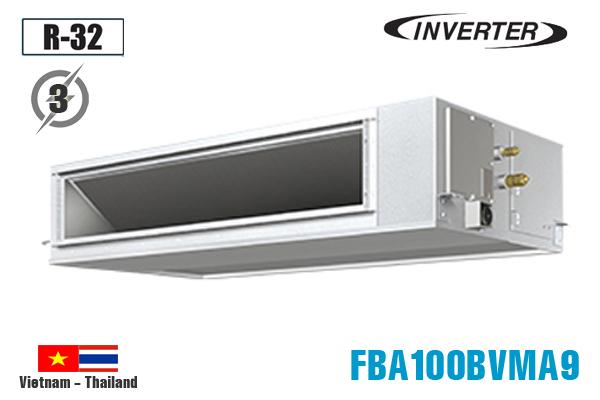 FBA100BVMA9/RZF100CYM, Điều hòa nối ống gió 34000BTU Daikin inverter 1 chiều