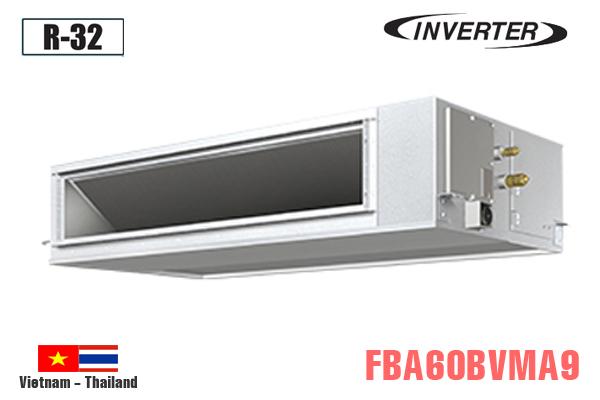 FBA60BVMA9/RZA60DV2V, Điều hòa âm trần nối ống gió 21000BTU Daikin