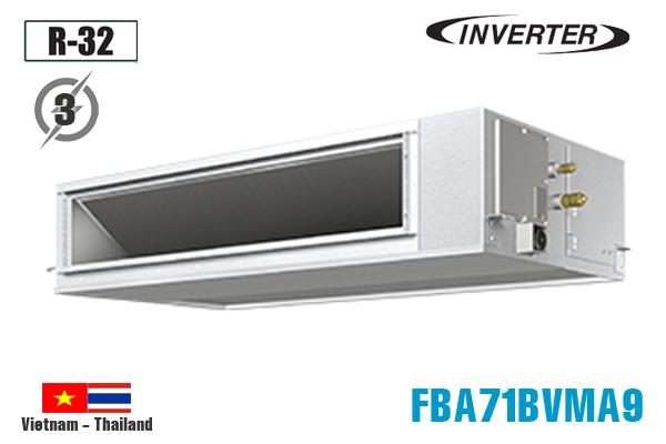 FBA71BVMA9/RZF71CYM, Điều hòa nối ống gió 24000BTU Daikin inverter 1 chiều