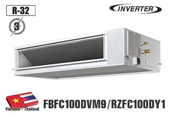 FBFC100DVM9/RZFC100DY1, Điều hòa âm trần nối ống gió Daikin 36000BTU
