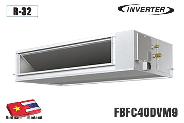 FBFC40DVM9, Điều hòa âm trần nối ống gió Daikin 15000BTU