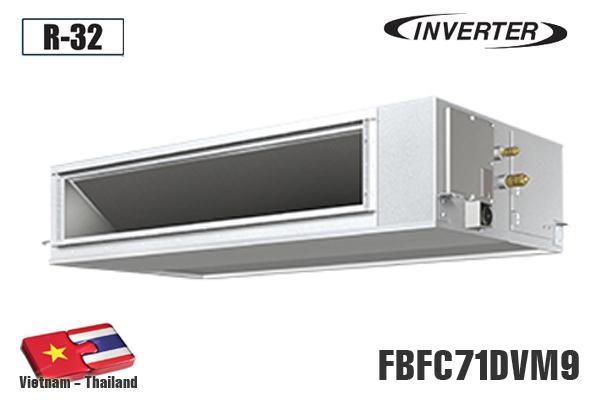 FBFC71DVM9, Điều hòa âm trần nối ống gió Daikin 24000BTU
