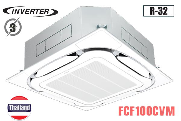 FCF100CVM/RZA100DY1, Điều hòa âm trần 34000BTU Daikin 2 chiều inverter