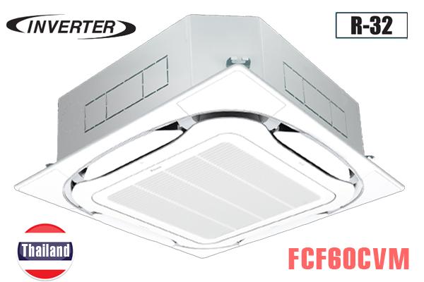 FCF60CVM/RZA60DV2V, Điều hòa âm trần Daikin 21000BTU 2 chiều inverter