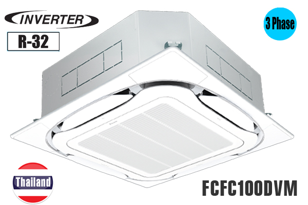 Daikin FCFC100DVM/RZFC100DY1, Điều hòa âm trần Daikin 34000BTU inverter 1 chiều