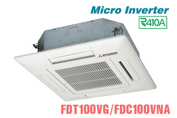 Mitsubishi Heavy FDT100VG/FDC100VNA 34000BTU 2 chiều