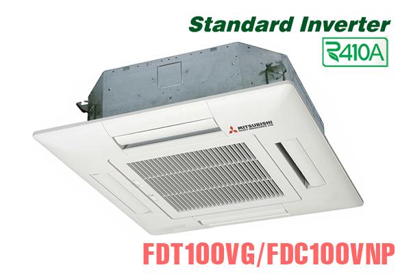 Mitsubishi Heavy FDT100VG/FDC100VNP, Điều hòa âm trần 34000BTU 2 chiều