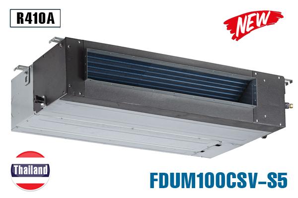 FDUM100CSV-S5, Điều hòa âm trần nối ống gió Mitsubishi Heavy 34000BTU