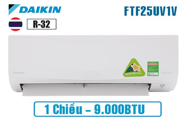 Daikin FTF25UV1V, Điều hòa Daikin 9000 BTU 1 chiều