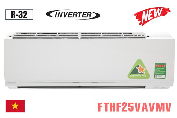 FTHF25VAVMV, Điều hòa Daikin 2 chiều 9000BTU inverter [2021]