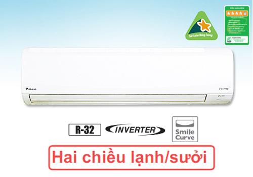 Điều hòa Daikin 2 chiều inverter FTHF60RVMV - banhangtaikho.com.vn