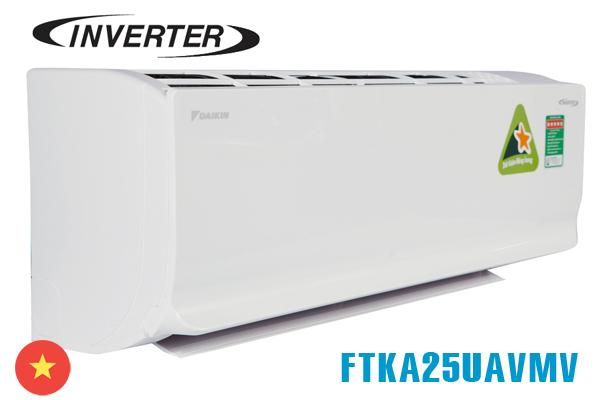 Daikin FTKA25UAVMV, Điều hòa Daikin inverter 9000BTU 1 chiều
