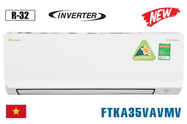 FTKA35VAVMV, Điều hòa Daikin 1 chiều 12000BTU inverter [2021]