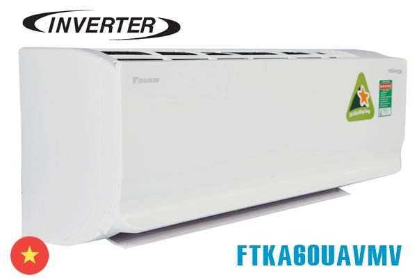 Daikin FTKA60UAVMV, Điều hòa Daikin inverter 21000BTU 1 chiều