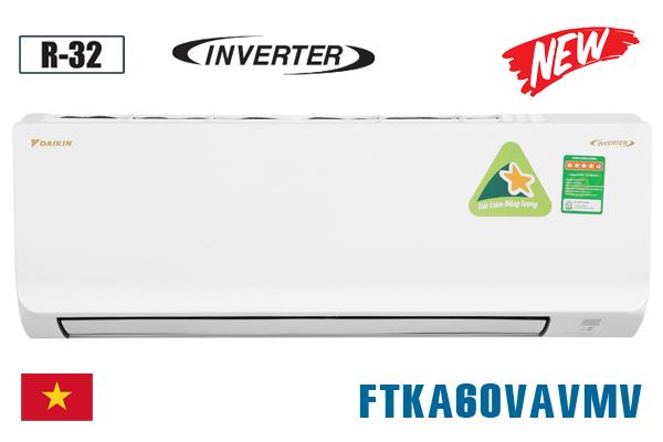 FTKA60VAVMV, Điều hòa Daikin 1 chiều 21000BTU inverter [2021]