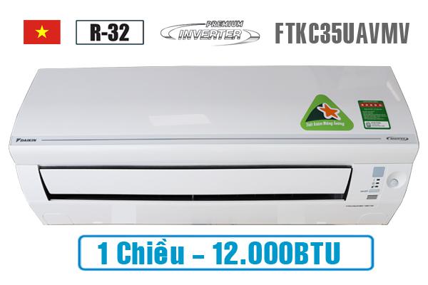 Daikin FTKC35UAVMV, Điều hòa Đaikin 1 chiều 12.000BTU inverter